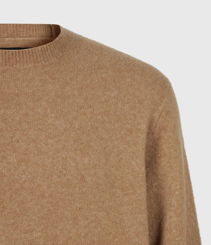 Mens Aurel Crew Sweater (acorn_brown) - Image 5