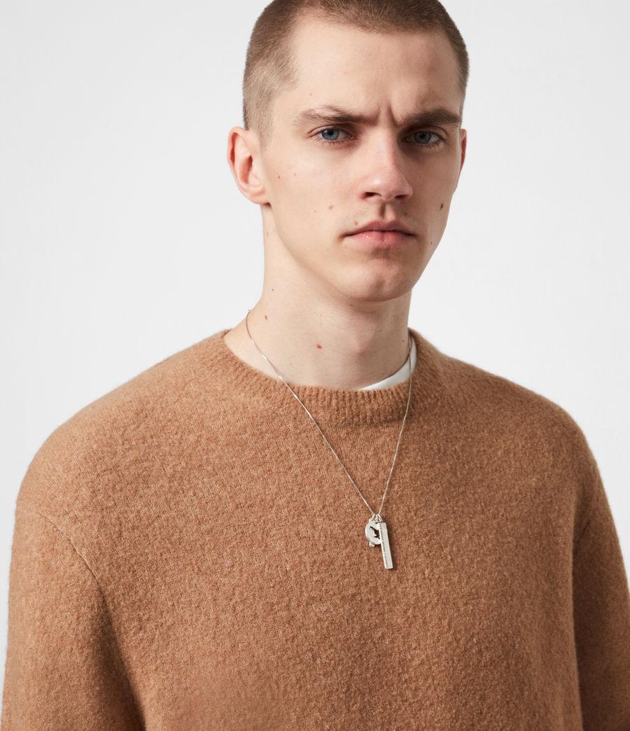 Mens Aurel Crew Sweater (acorn_brown) - Image 6