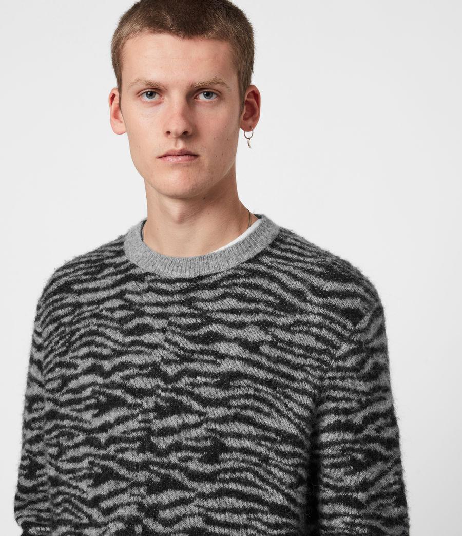 Herren Askell Crew Pullover (grey_marl) - Image 4