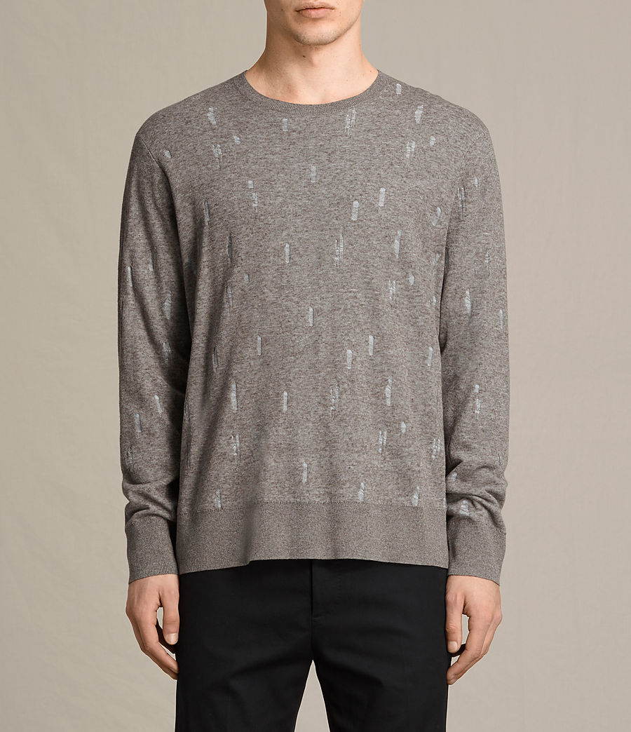 Uomo Pullover Emil (military) - Image 1
