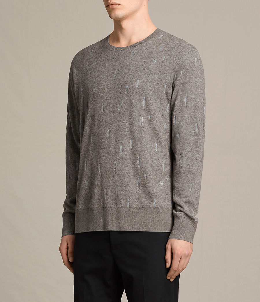Uomo Pullover Emil (military) - Image 3