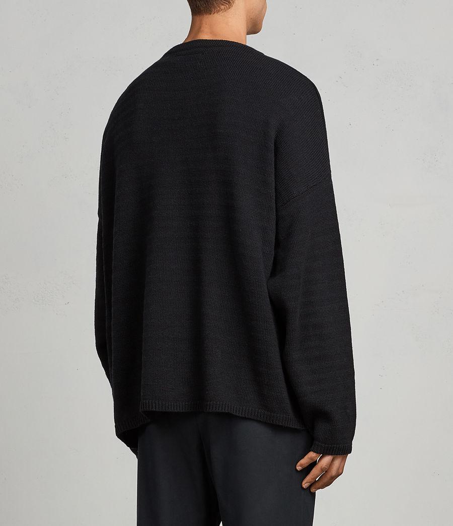 Mens Blasco Crew Sweater (black) - Image 4