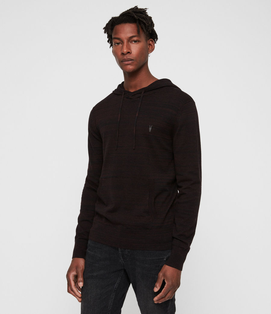 Men's Marlo Hoodie (dark_rust_red_marl) - Image 1