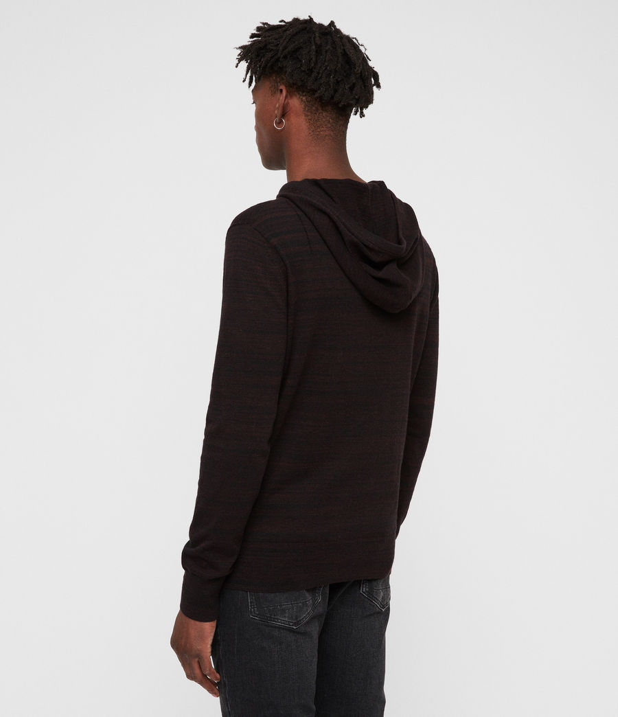 Men's Marlo Hoodie (dark_rust_red_marl) - Image 4