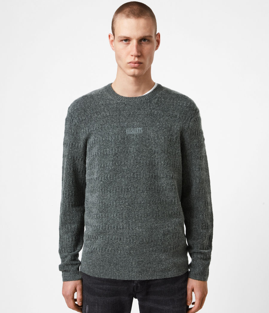 Hommes Pull Bergen (charcoal_grey_marl) - Image 1