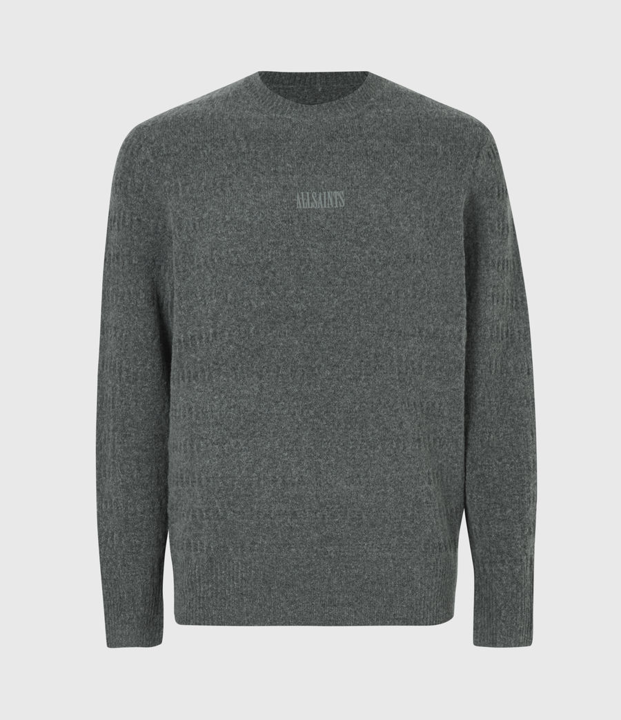 Hommes Pull Bergen (charcoal_grey_marl) - Image 2