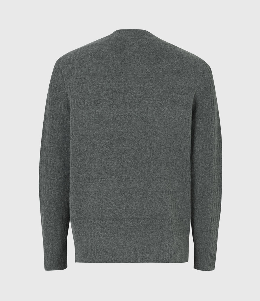 Hommes Pull Bergen (charcoal_grey_marl) - Image 3