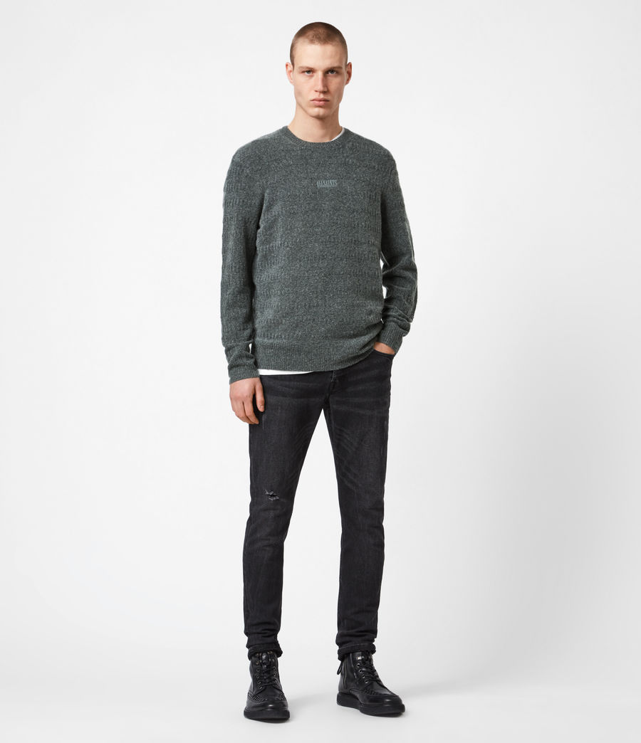 Hommes Pull Bergen (charcoal_grey_marl) - Image 4