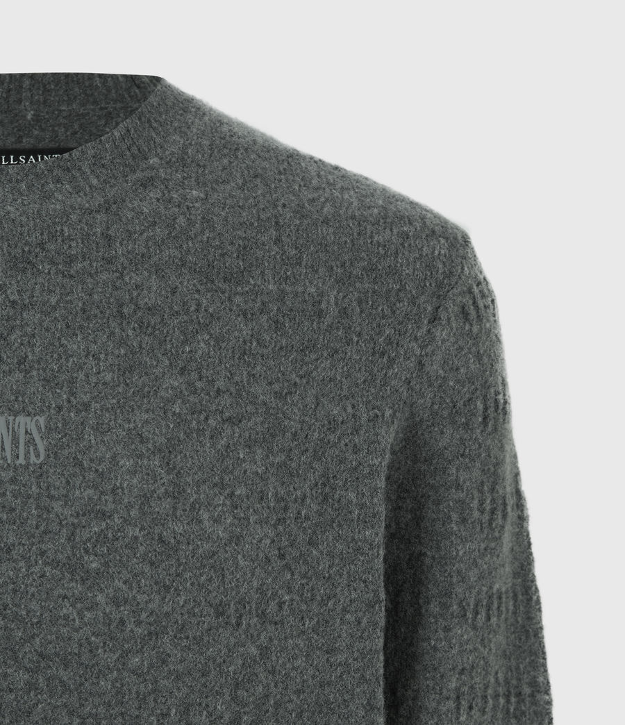 Hommes Pull Bergen (charcoal_grey_marl) - Image 5