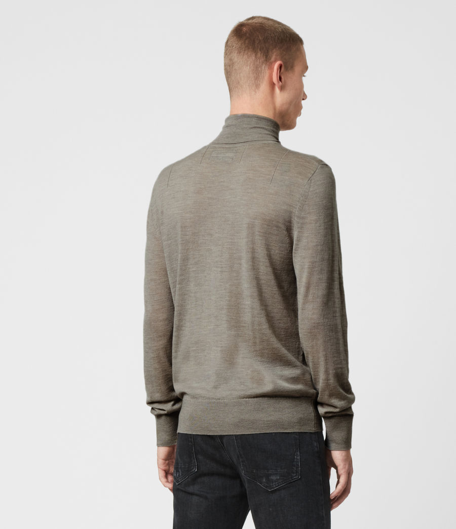 Hombres Jersey Mode Merino (grey_marl) - Image 4