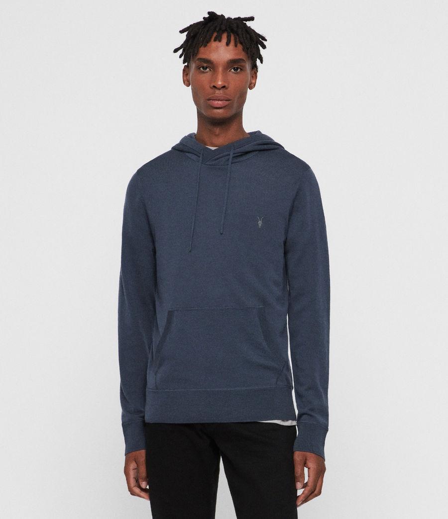 Men's Mode Merino Hoodie (pier_blue) - Image 4