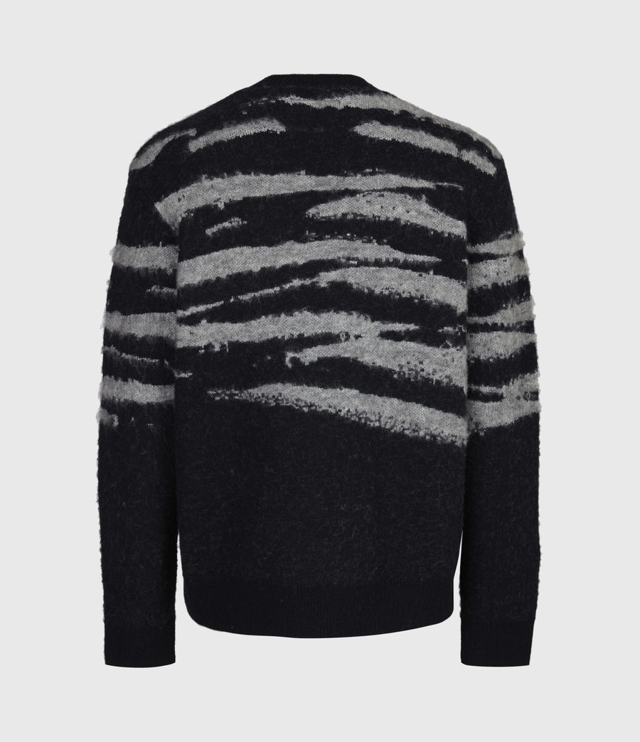 Men's Ture Saints Crew Jumper (black) - Image 3