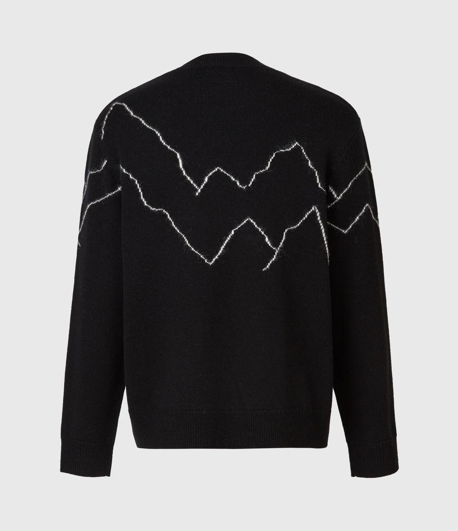 Mens Mount Saints Crew Sweater (black) - Image 3