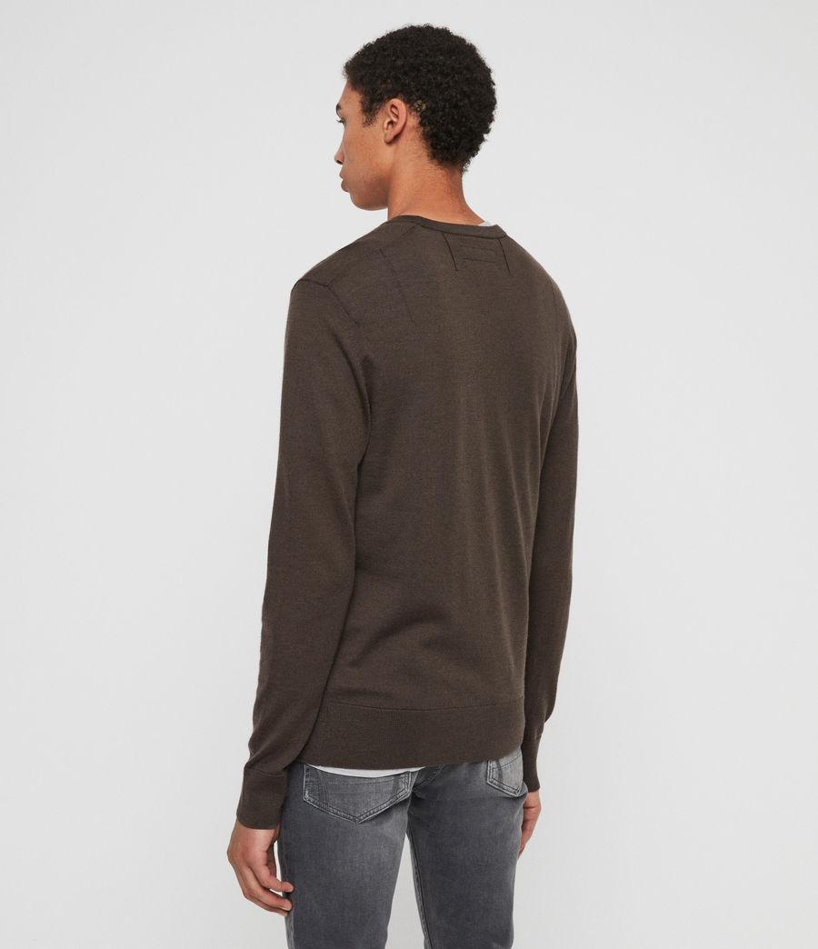 Hombre Mode Merino Crew Sweater (khaki_brown) - Image 4