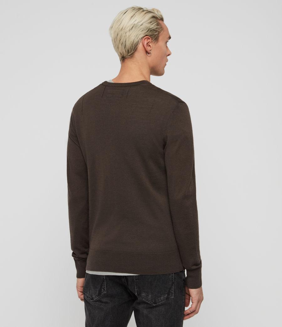Hombre Mode Merino Crew Sweater (khaki_brown) - Image 5