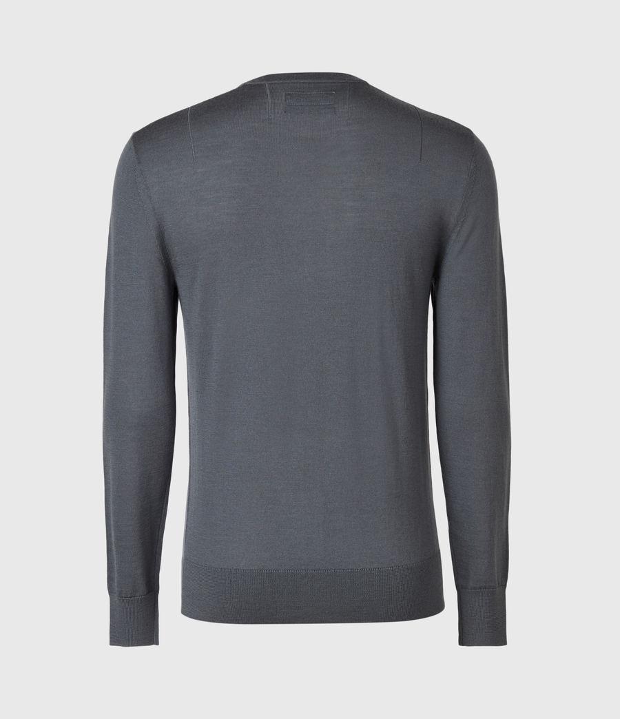 Mens Mode Merino Crew Sweater (shadow_blue) - Image 3