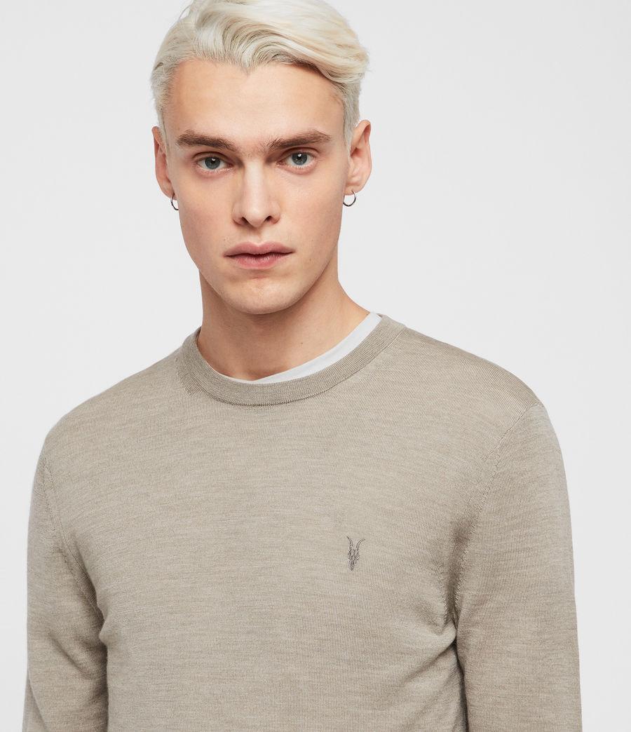 Hombres Jersey Mode Merino (light_grey_marl) - Image 2
