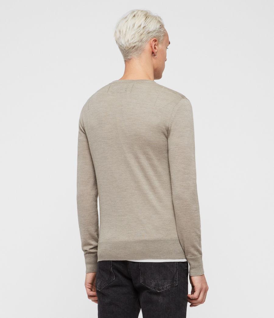 Hombres Jersey Mode Merino (light_grey_marl) - Image 4