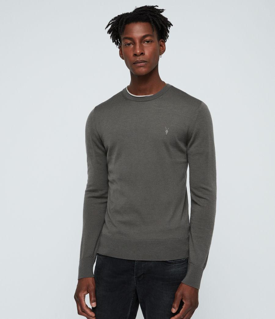 Mens Mode Merino Crew Sweater (core_grey) - Image 1