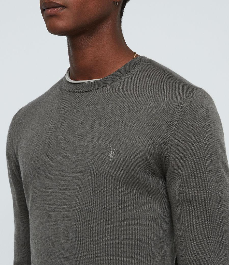 Mens Mode Merino Crew Sweater (core_grey) - Image 2
