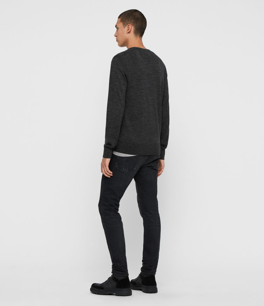 Men's Mode Merino Crew Jumper (ink_navy) - Image 5