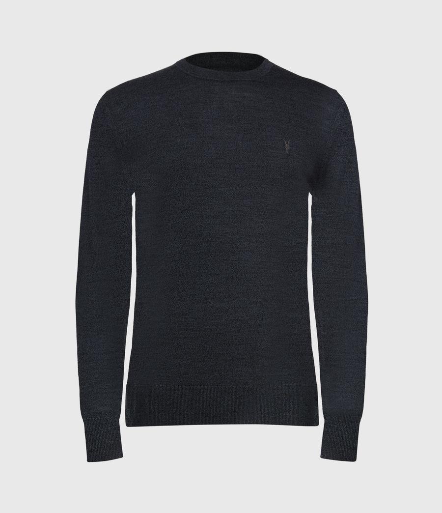 Mens Mode Merino Crew Sweater (grey_marl) - Image 2