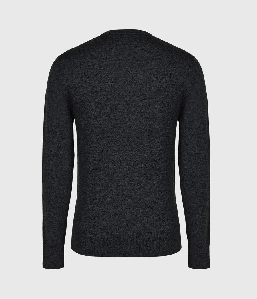 Mens Mode Merino Crew Sweater (grey_marl) - Image 3