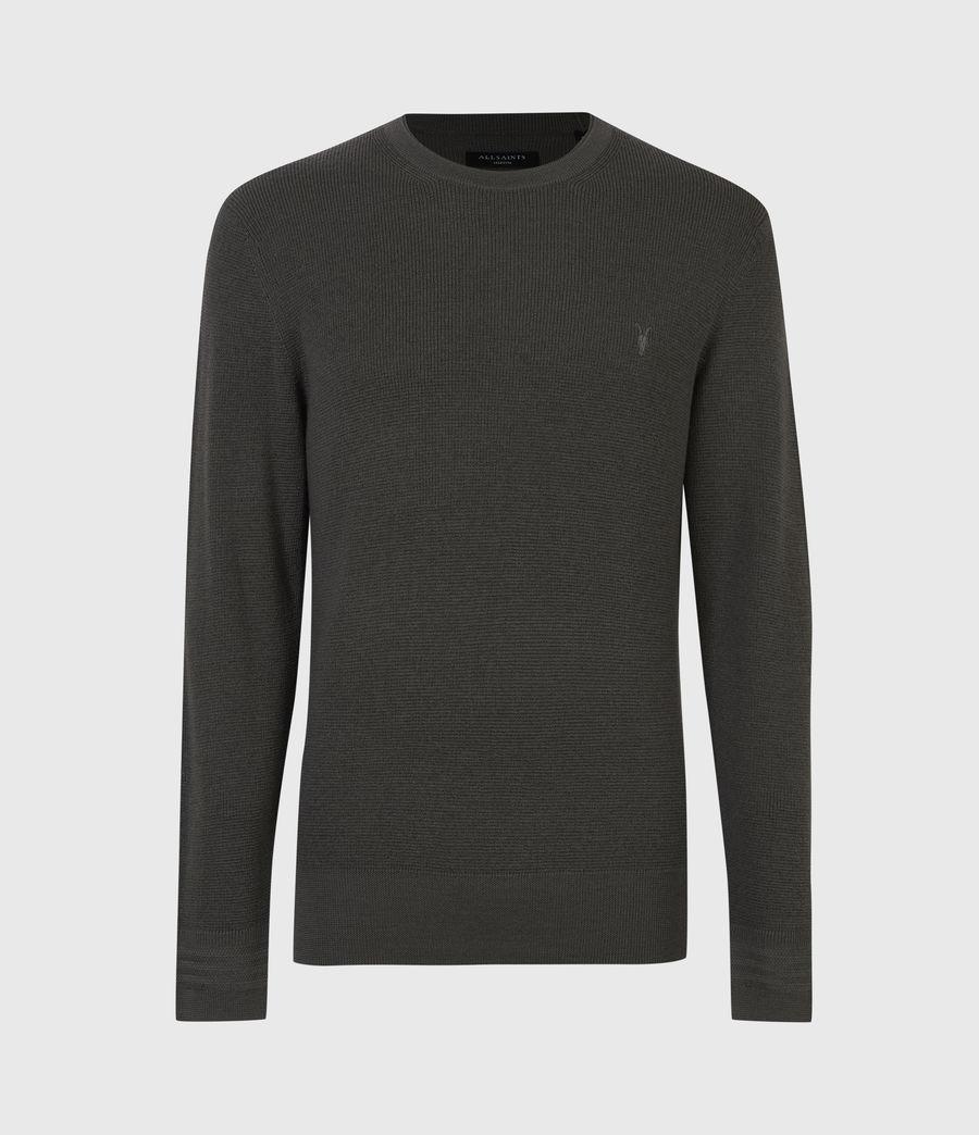 Mens Ivar Merino Crew Sweater (sacremento_green) - Image 2