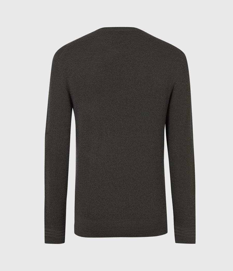 Mens Ivar Merino Crew Sweater (sacremento_green) - Image 3