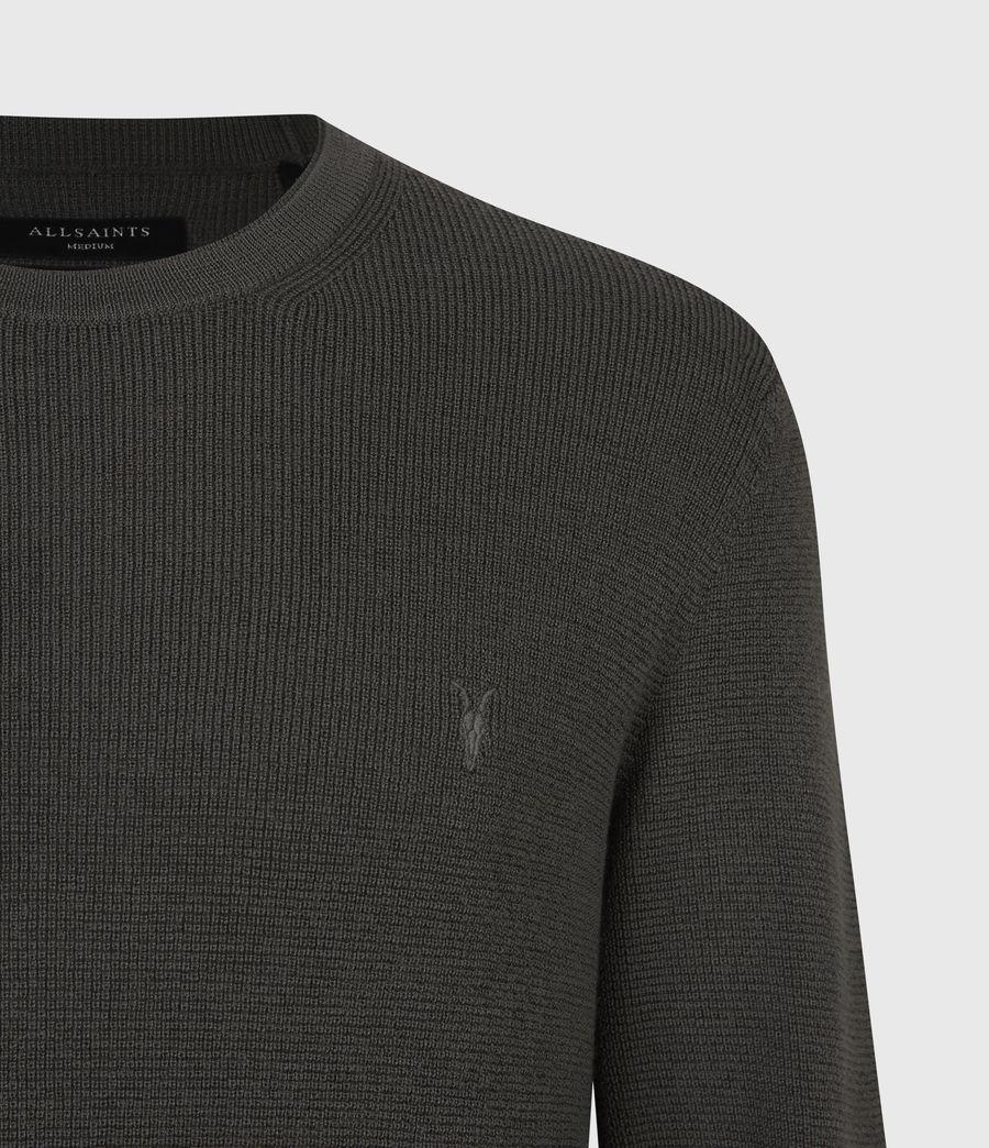 Mens Ivar Merino Crew Sweater (sacremento_green) - Image 5