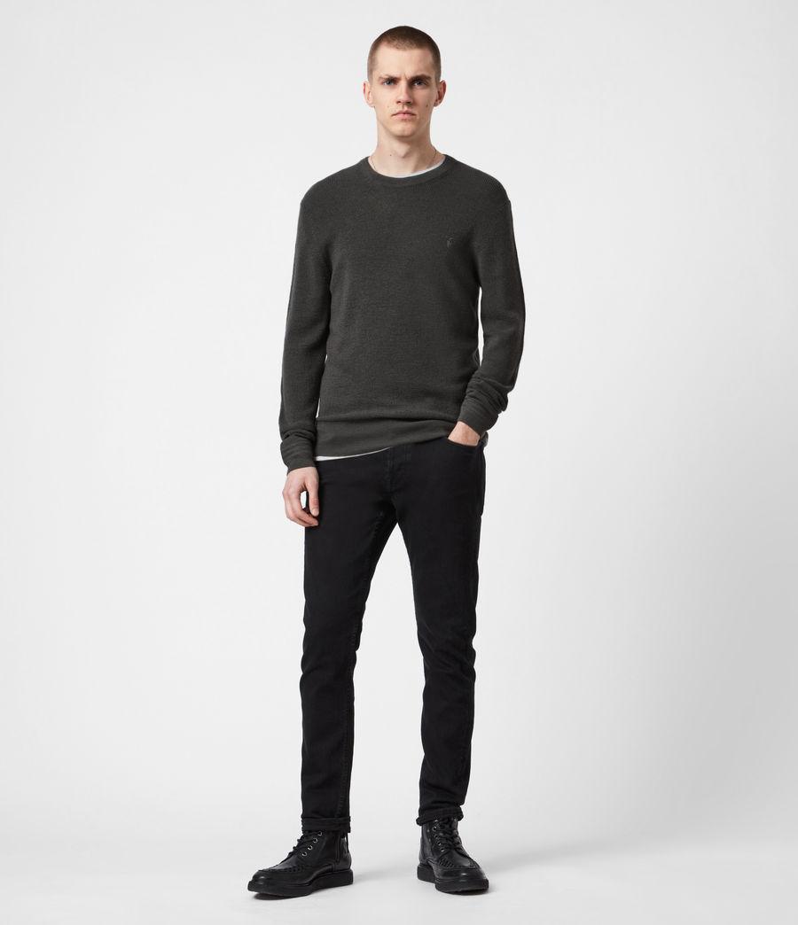 Mens Ivar Merino Crew Sweater (sacremento_green) - Image 6