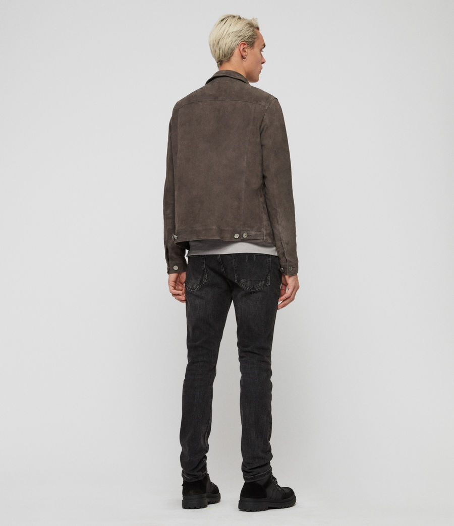 Men's Forge Suede Jacket (graphite_grey) - Image 7