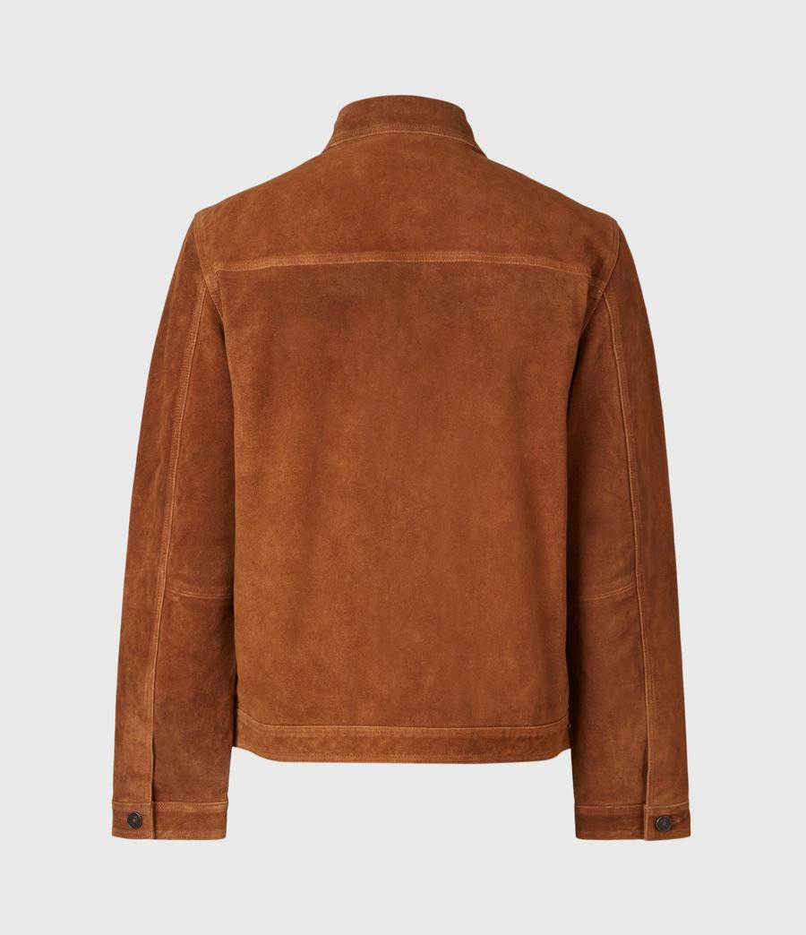 Mens Adler Suede Jacket (camel) - Image 1