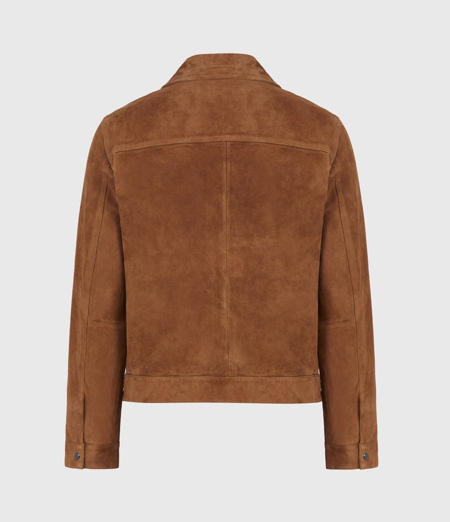 Men's Adaire Suede Jacket (tan) - Image 3
