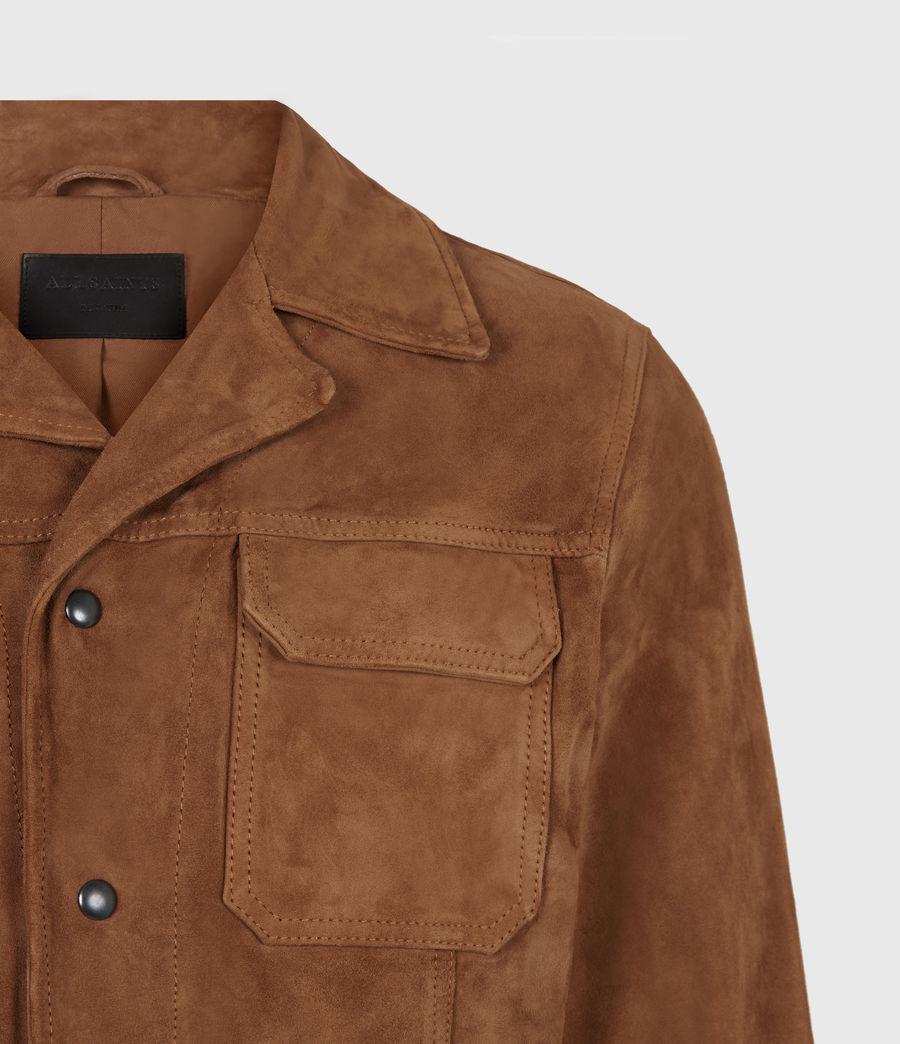 Men's Adaire Suede Jacket (tan) - Image 5
