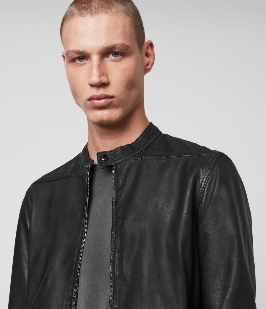 Herren Colt Leather Jacket (black) - Image 2