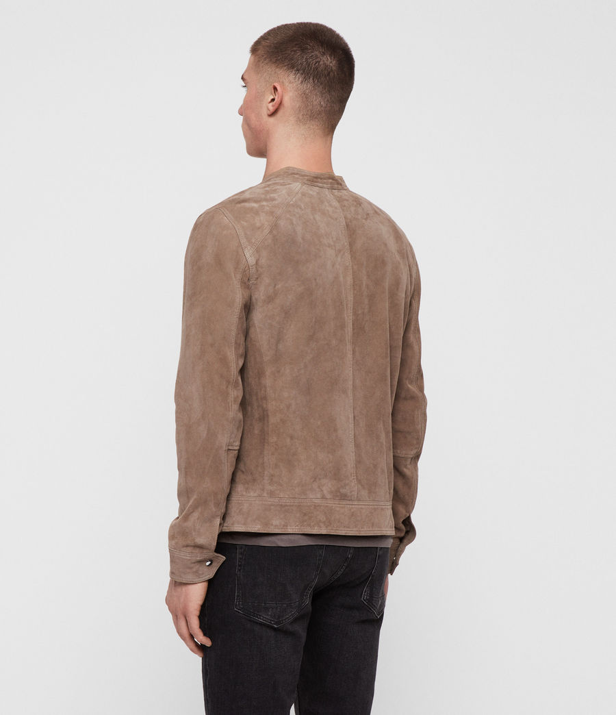 Men's Colt Suede Jacket (gravel_grey) - Image 5