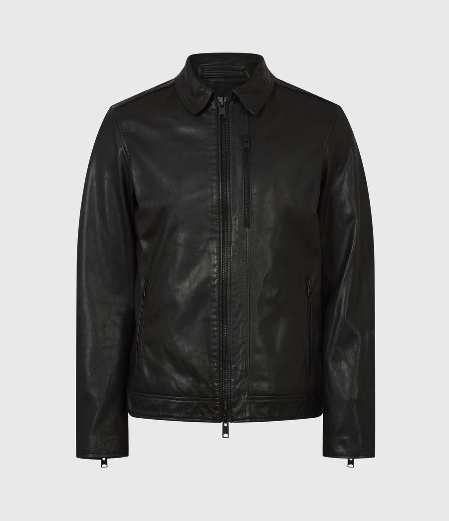 Men's Timo Leather Jacket (black) - Image 2