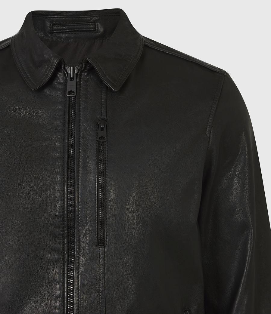 Men's Timo Leather Jacket (black) - Image 5