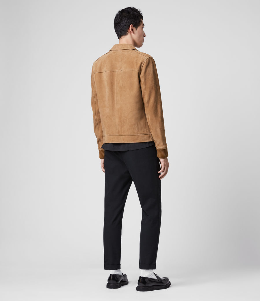 Men's Drant Suede Jacket (tan) - Image 3