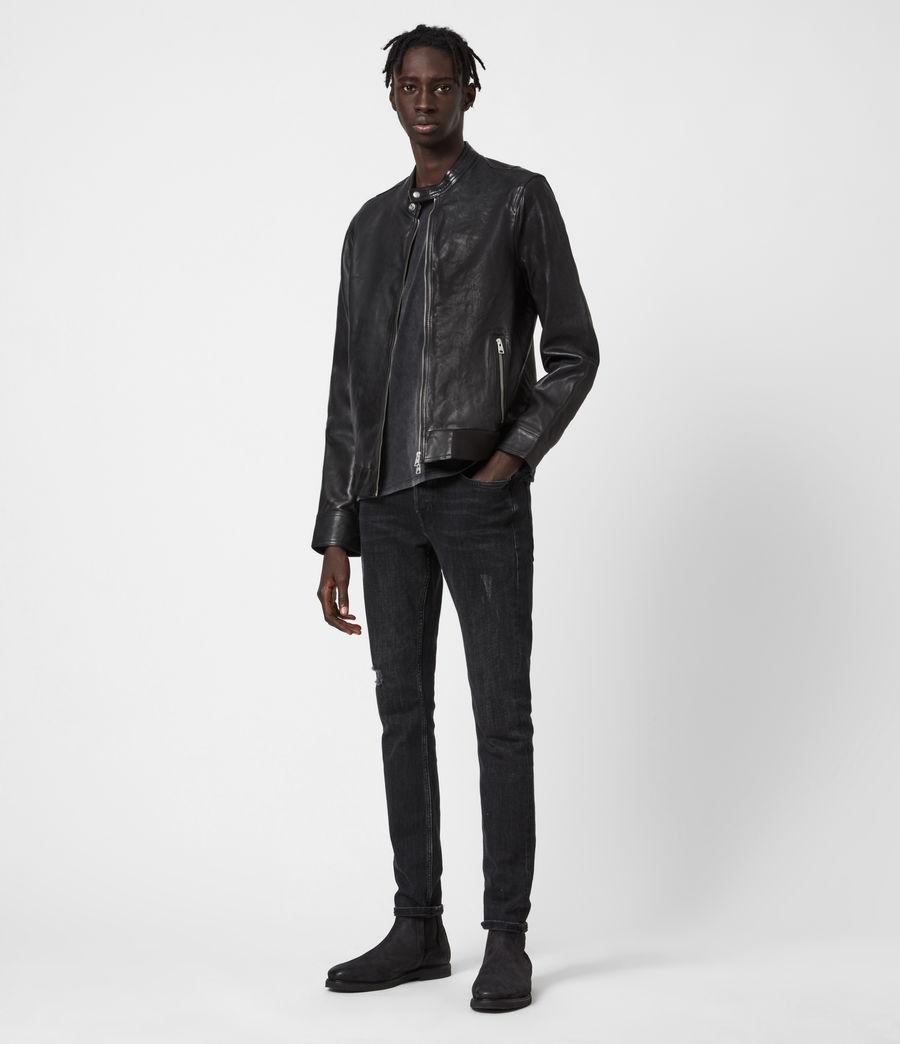 Mens Hopkin Jacket (black) - Image 4