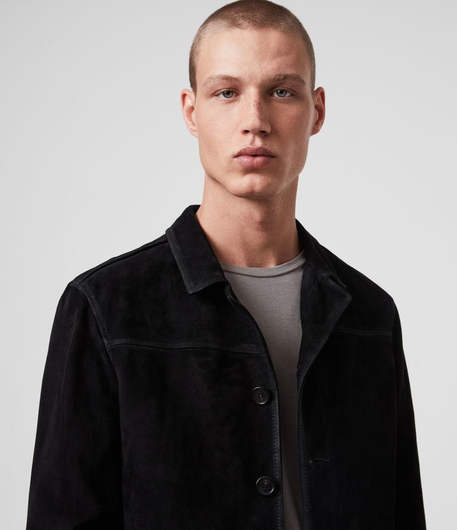 Men's Clifton Suede Jacket (black) - Image 2