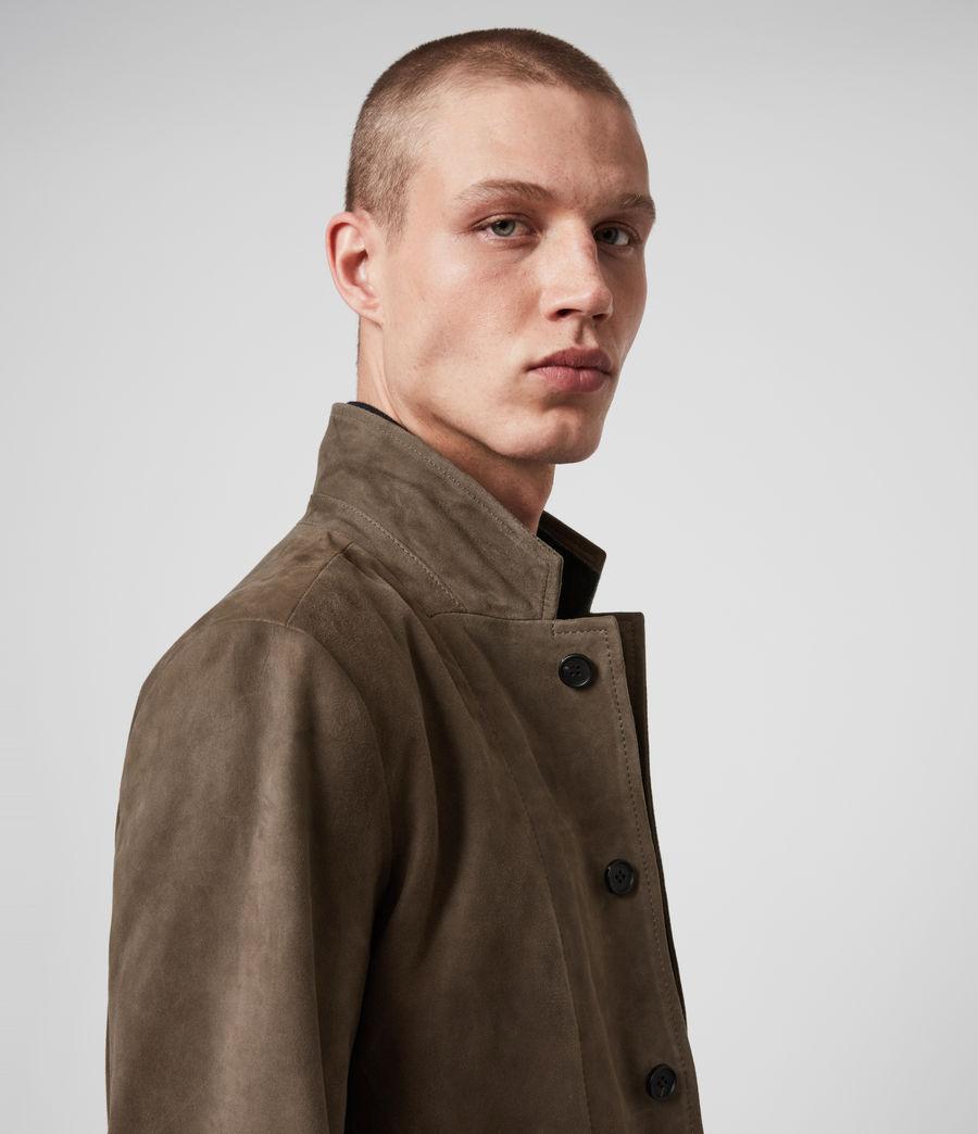 Men's Hopton Suede Blazer (light_taupe) - Image 2