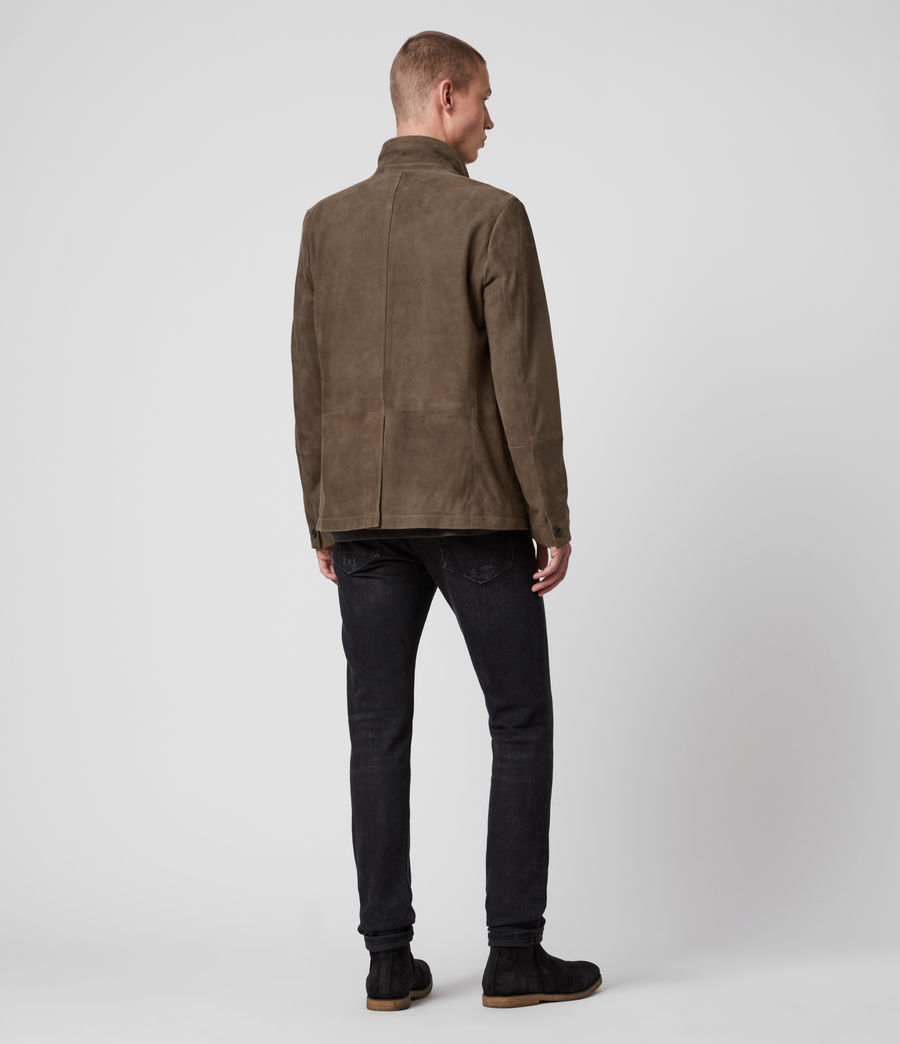 Men's Hopton Suede Blazer (light_taupe) - Image 5