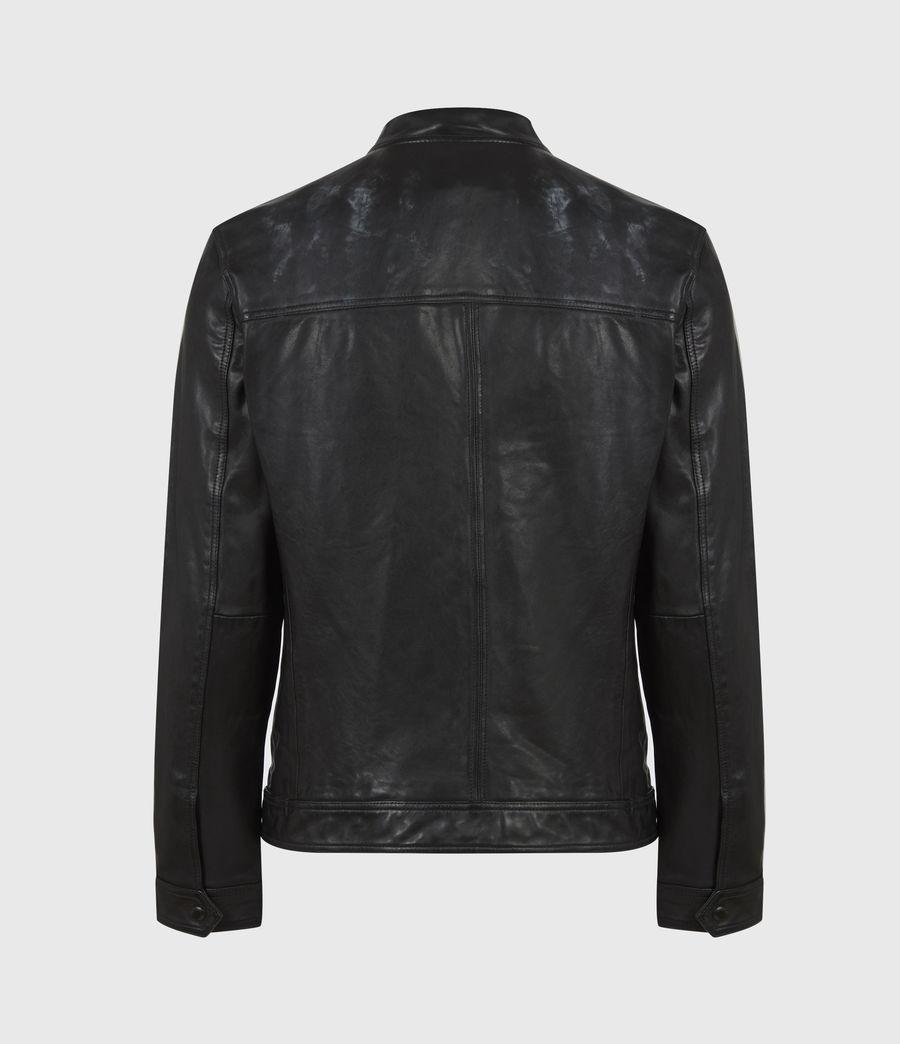 Hommes Monix Leather Jacket (black) - Image 3