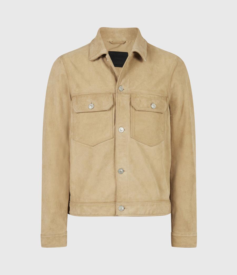 Herren Santi Leather Jacket (desert_brown) - Image 2
