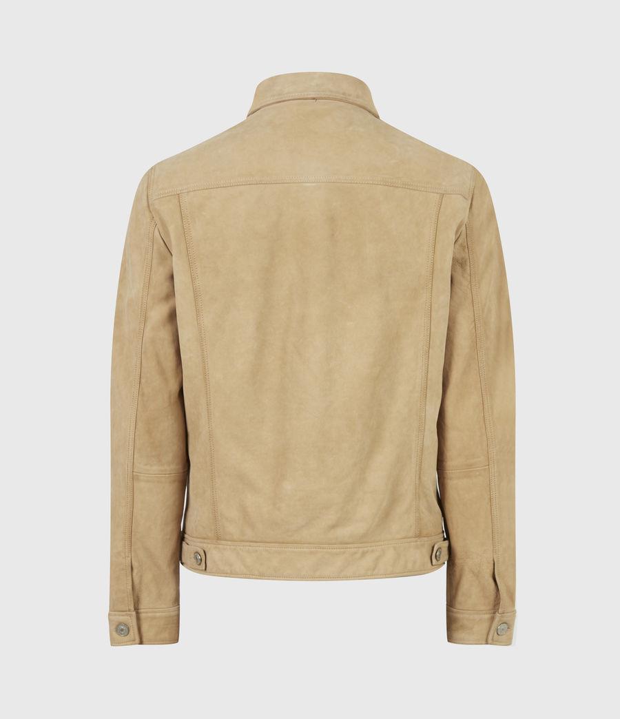 Herren Santi Leather Jacket (desert_brown) - Image 3