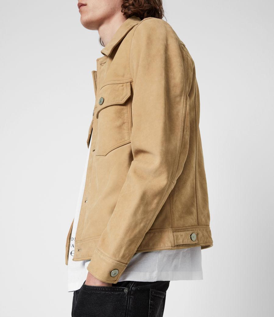 Herren Santi Leather Jacket (desert_brown) - Image 4