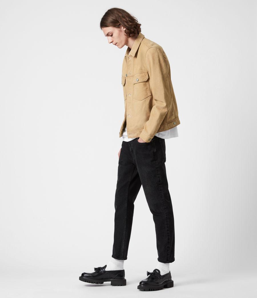 Herren Santi Leather Jacket (desert_brown) - Image 6