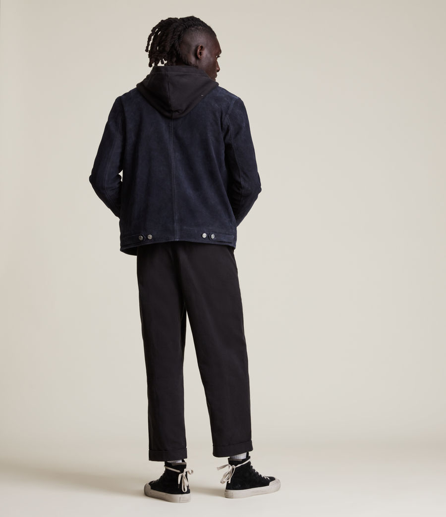 Men's Terence Suede Jacket (midnight_blue) - Image 7